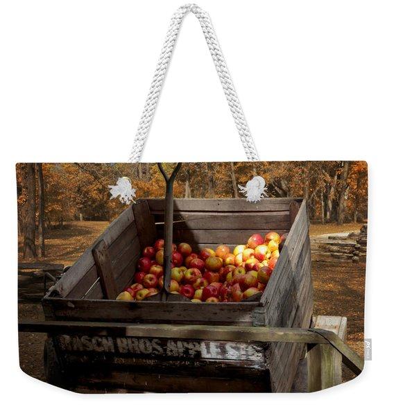 The Apple Bin Weekender Tote Bag