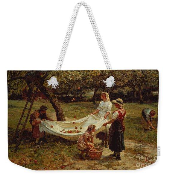 The Apple Gatherers Weekender Tote Bag