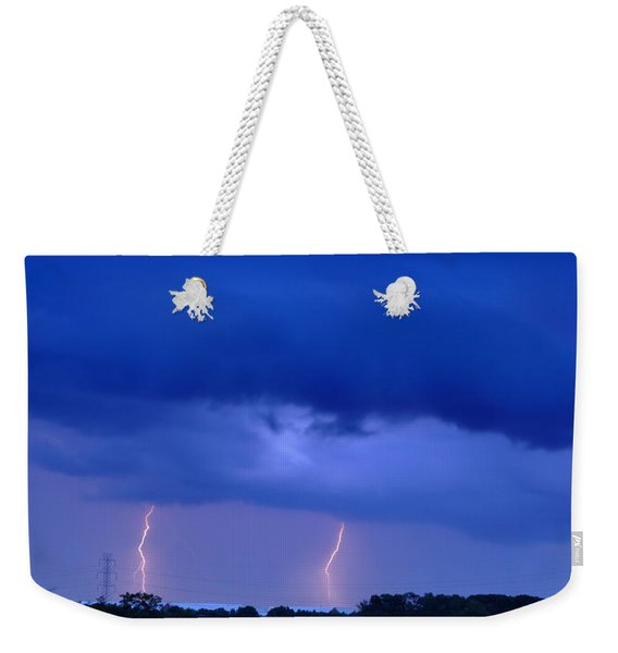The Approching Storm Weekender Tote Bag
