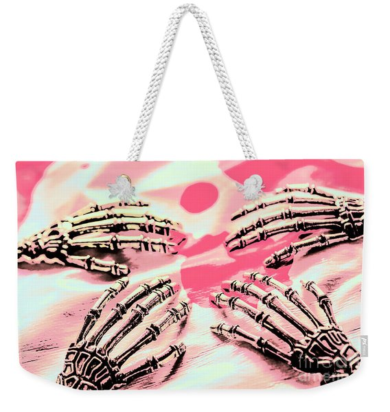The Arms Of Automation Weekender Tote Bag