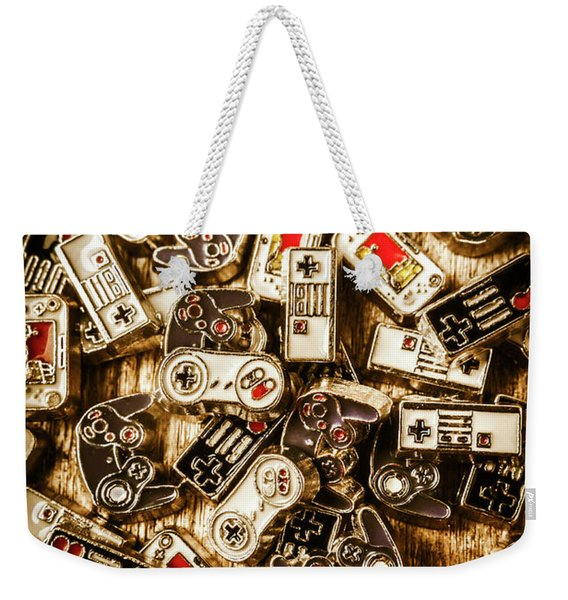 The Art Of Antique Games Weekender Tote Bag