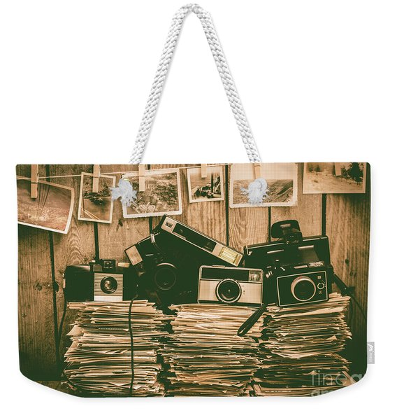 The Art Of Film Photography Weekender Tote Bag