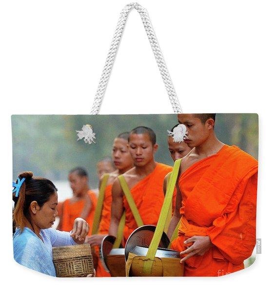 The Art Of Giving Weekender Tote Bag