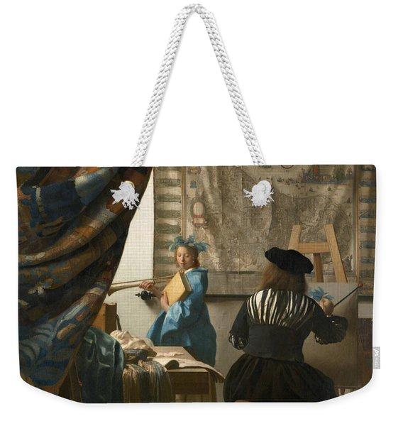 The Art Of Painting Weekender Tote Bag