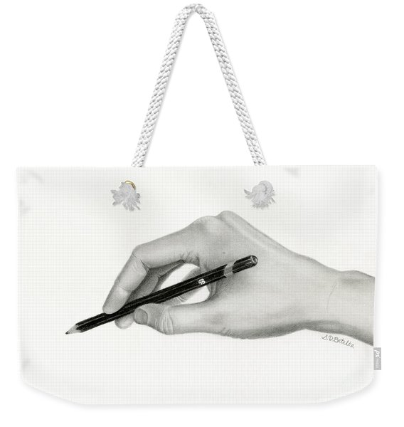 The Artist's Hand Weekender Tote Bag