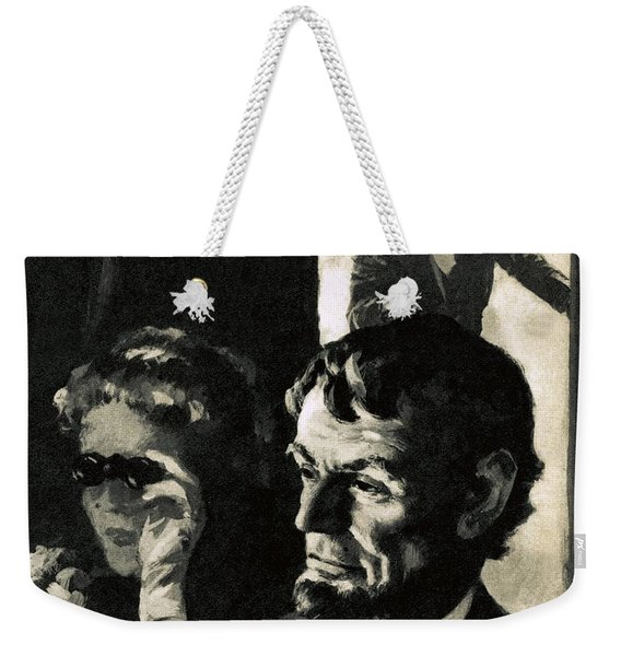 The Assassination Of Abraham Lincoln Weekender Tote Bag