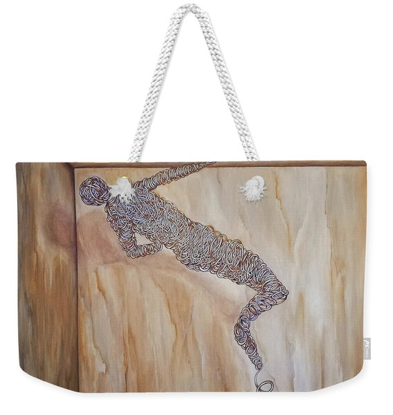 The Attempts Of Escape Weekender Tote Bag