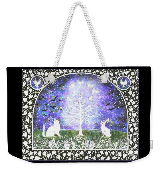 The Attraction Weekender Tote Bag