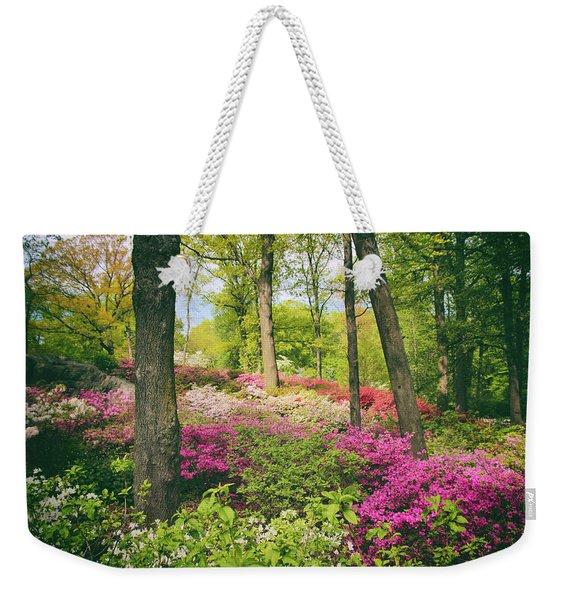 The Azalea Woodland Weekender Tote Bag