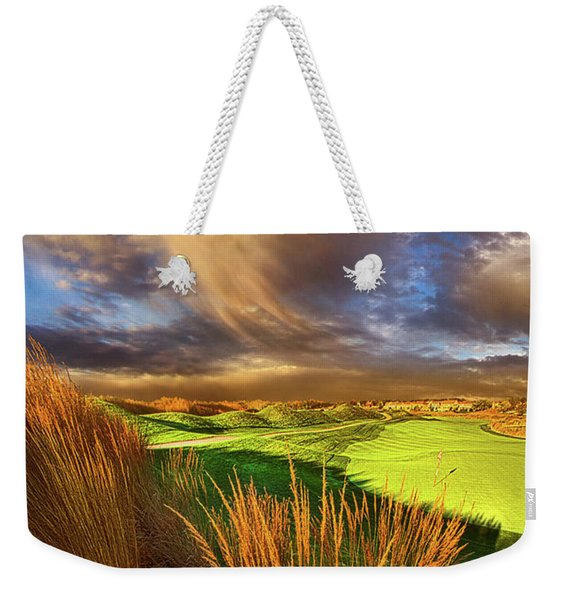 The Back Nine Weekender Tote Bag