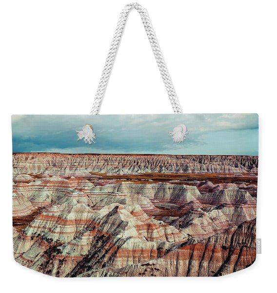 The Badlands Of South Dakota I Weekender Tote Bag