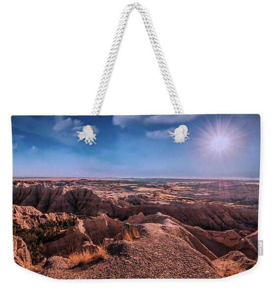 The Badlands Of South Dakota II Weekender Tote Bag