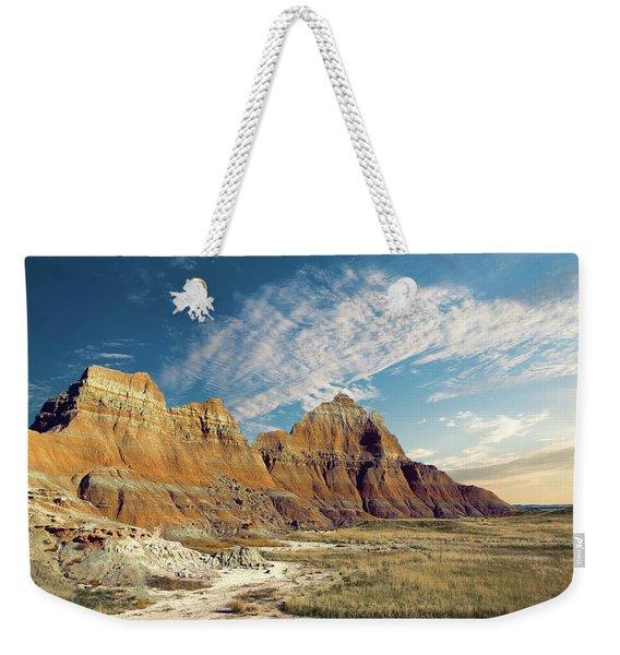 The Badlands Of South Dakota Weekender Tote Bag