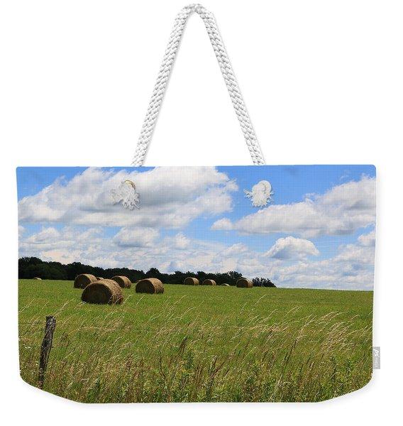 The Bales Of Summer 2 Weekender Tote Bag