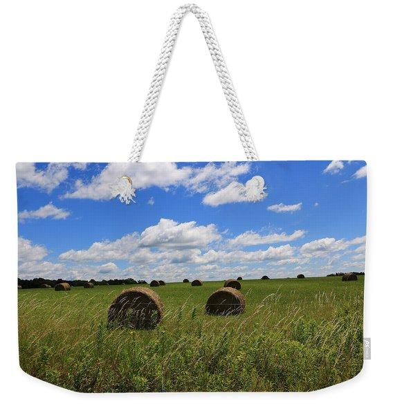 The Bales Of Summer Weekender Tote Bag