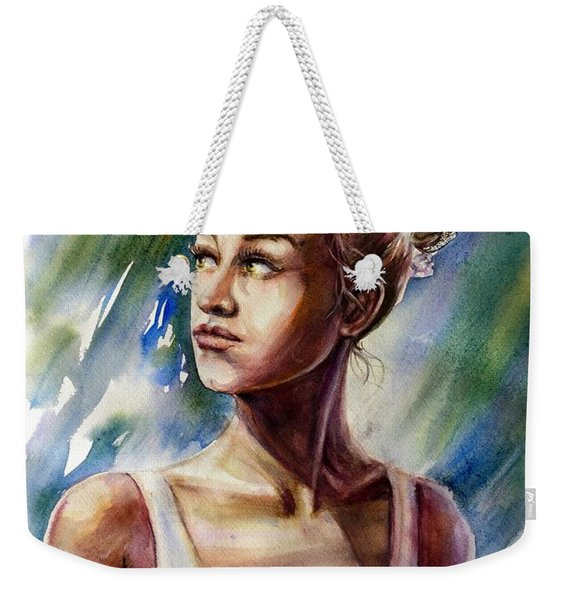 The Ballerina Weekender Tote Bag
