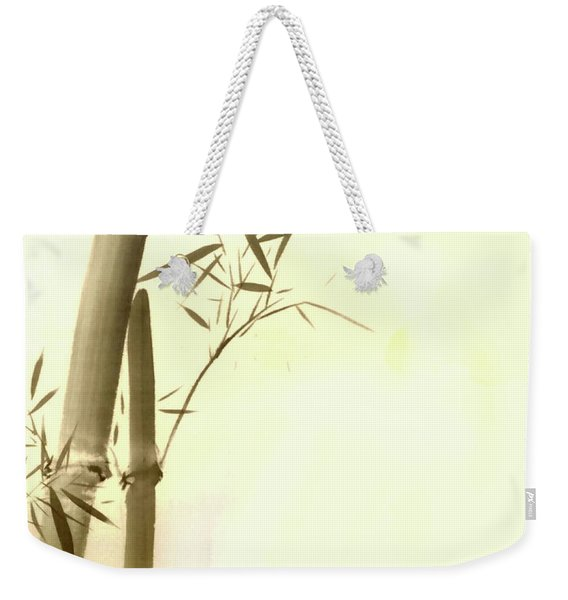 The Bamboo Branch Weekender Tote Bag