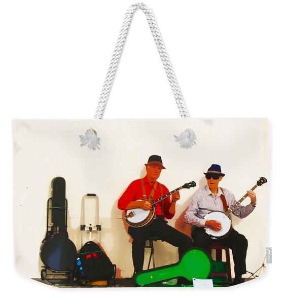 The Banjo Dudes Weekender Tote Bag