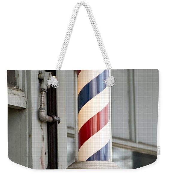 The Barber Shop 4 Weekender Tote Bag