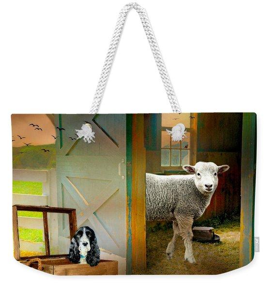 Barn Fellows Weekender Tote Bag