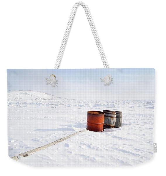 The Barrels Weekender Tote Bag