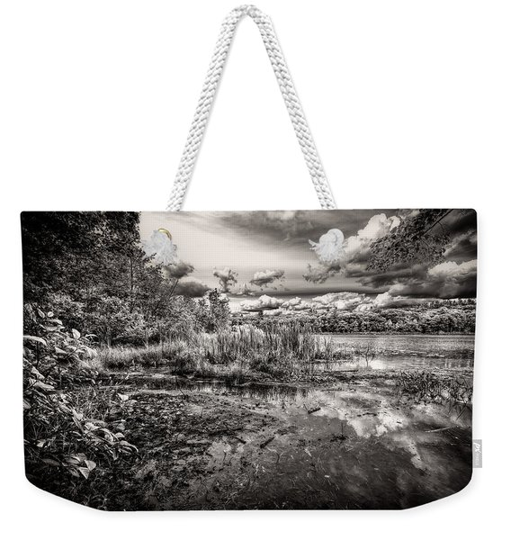 The Basin And Snails Weekender Tote Bag