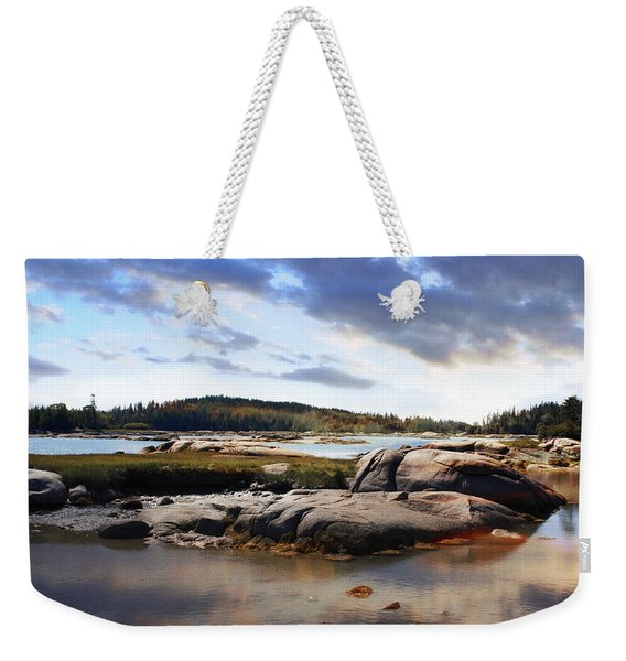 The Basin, Vinalhaven, Maine Weekender Tote Bag