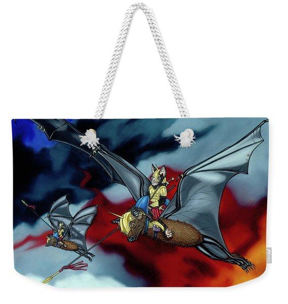 The Bat Riders Weekender Tote Bag
