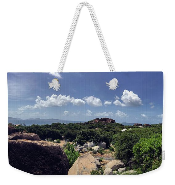 The Baths Bvi Weekender Tote Bag