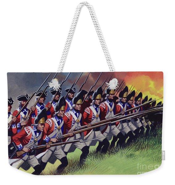 The Battle Of Bunker Hill Weekender Tote Bag