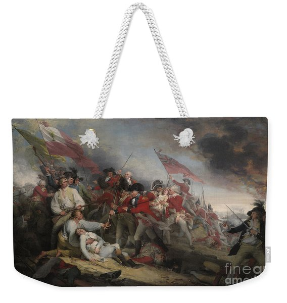 The Battle Of Bunker's Hill On June 17th 1775 Weekender Tote Bag