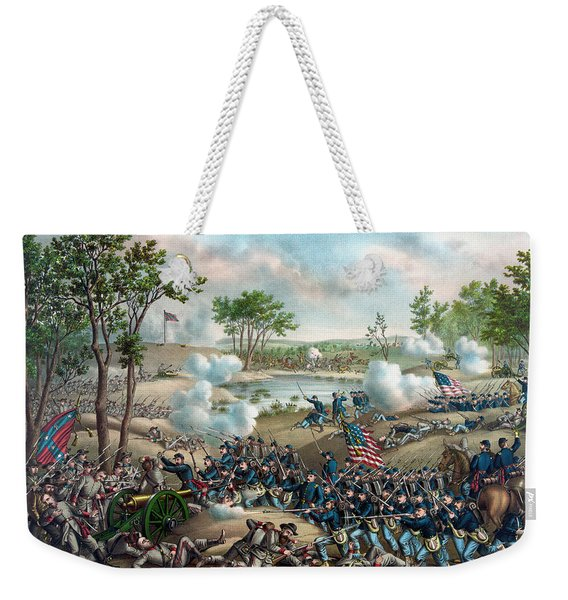 The Battle Of Cold Harbor Weekender Tote Bag