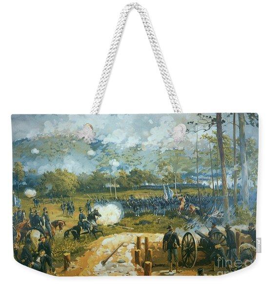 The Battle Of Kenesaw Mountain Weekender Tote Bag
