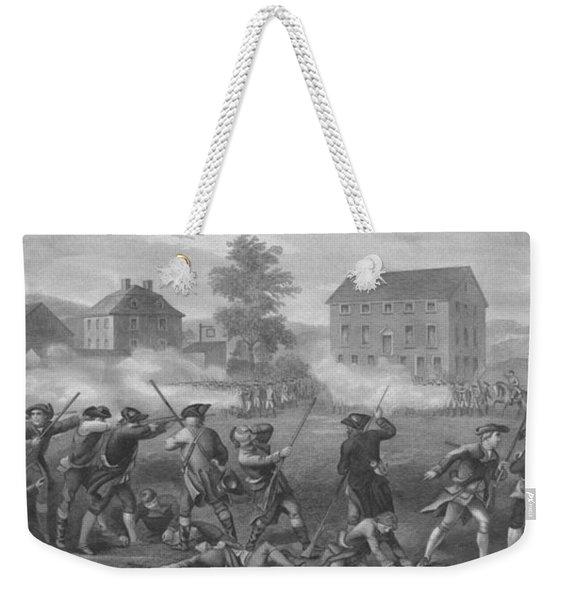 The Battle Of Lexington Weekender Tote Bag