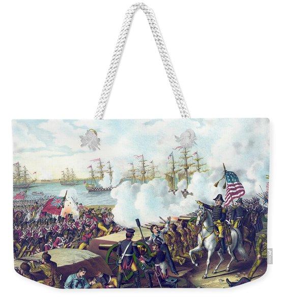 The Battle Of New Orleans Weekender Tote Bag