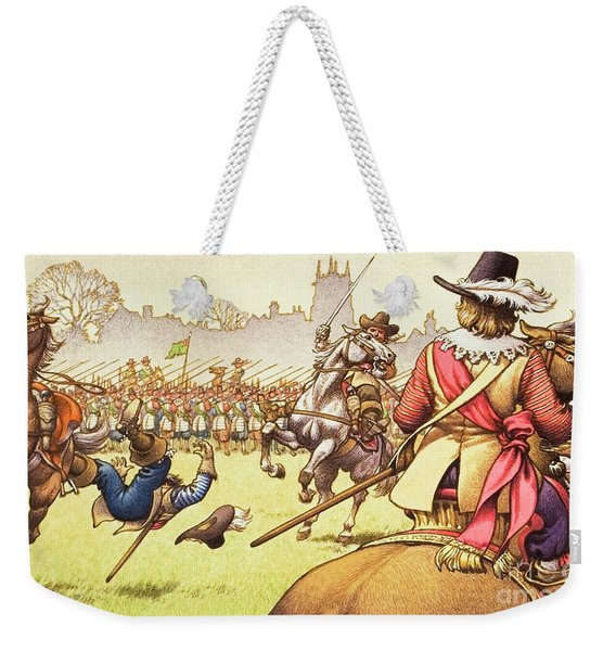 The Battle Of Turnham Green Weekender Tote Bag