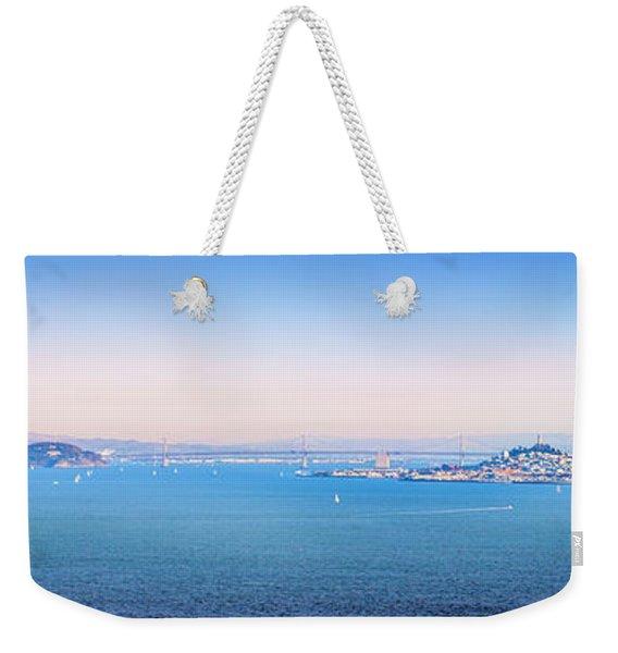 The Bay Weekender Tote Bag