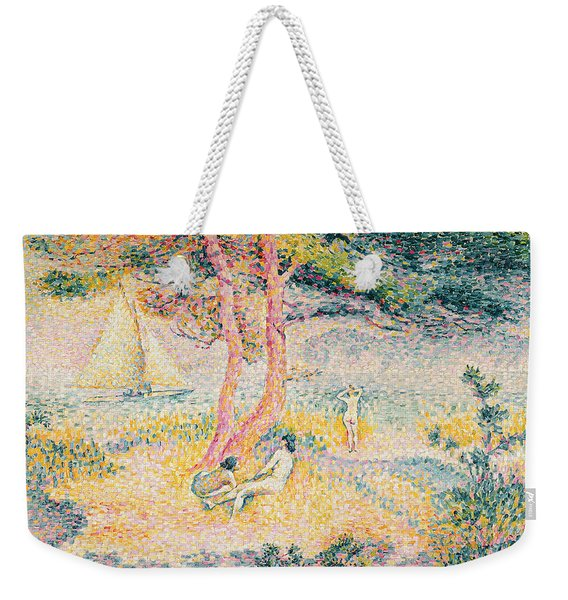 The Beach At St Clair Weekender Tote Bag