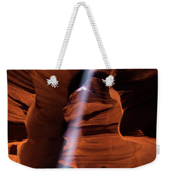 The Beam Of Light Weekender Tote Bag