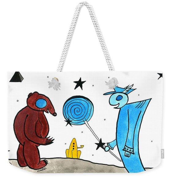 The Bear's Gift Weekender Tote Bag
