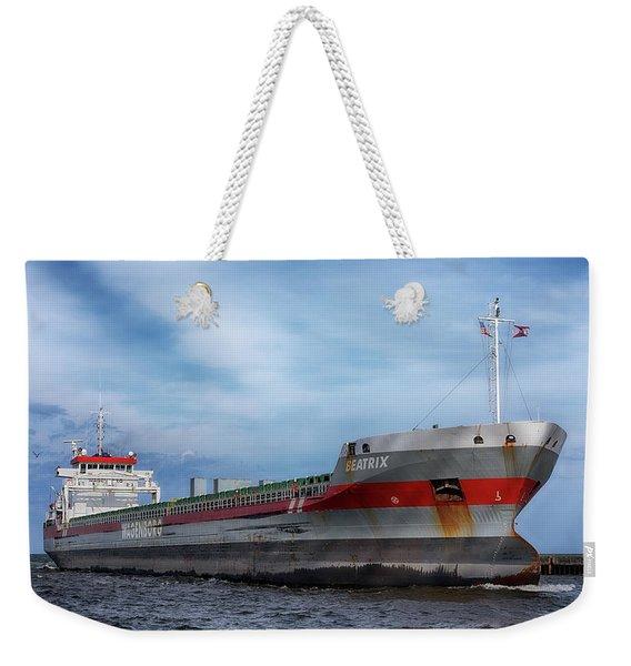 The Beatrix Weekender Tote Bag