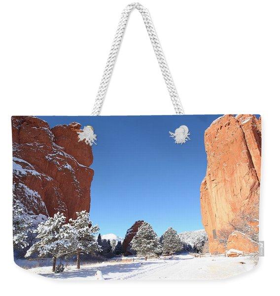 The Beautiful Gate Weekender Tote Bag