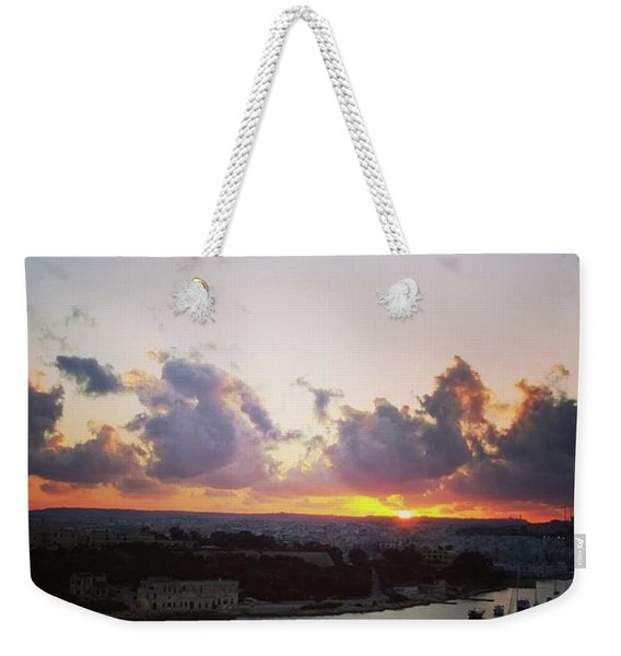 The Beauty Of A Maltese Weekender Tote Bag