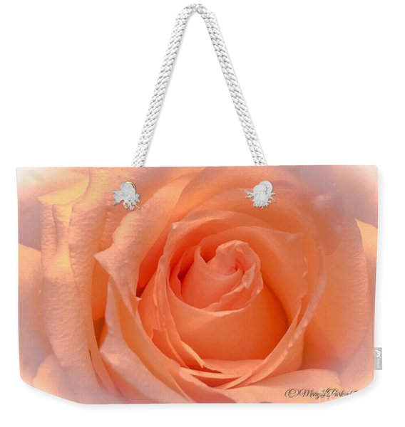 The  Beauty Of A Rose  Copyright Mary Lee Parker 17,  Weekender Tote Bag