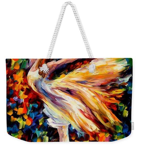 The Beauty Of Dance Weekender Tote Bag