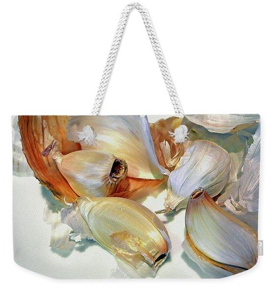 The Beauty Of Garlic Weekender Tote Bag
