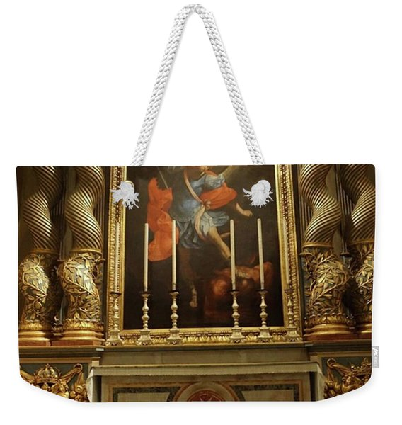 The Beauty Of St. John's Co-cathedral Weekender Tote Bag