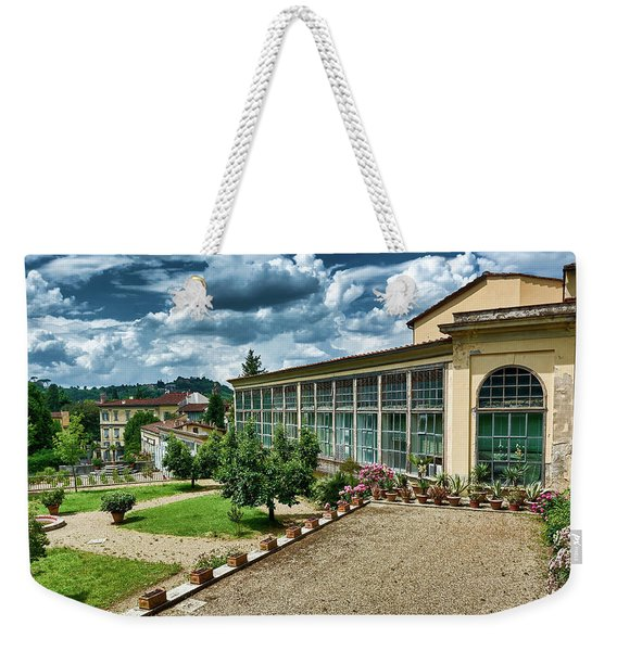 The Beauty Of The Boboli Gardens Weekender Tote Bag