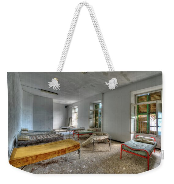 The Bedrooms Of The Former Summer Vacation Building - Le Camerate Dell'ex Colonia Marina Weekender Tote Bag