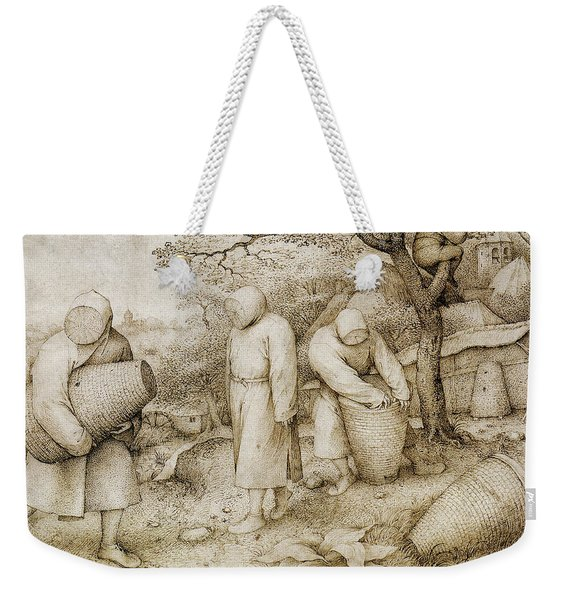 The Beekeepers And The Birdnester Weekender Tote Bag